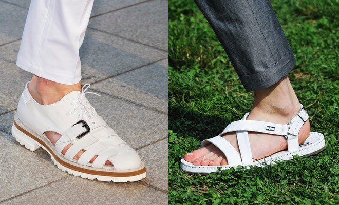 Scarpe e sandali bianchi per gli uomini - Malaspina 85b92b0e685