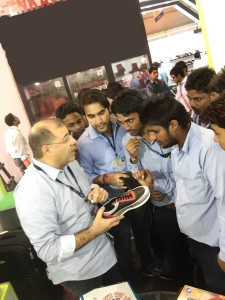 Leather, Footwear Components & Technology Fair Meet At Agra studenti2