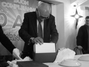 Giancarlo Malaspina 70 anni monte urano