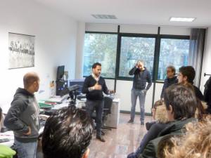 ufficio Cad/Cam vista presso stabilimento di Antonelli