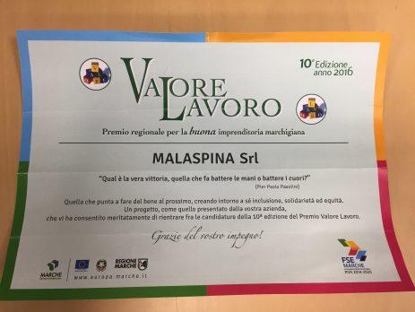 premio lavoro Ancona 2016